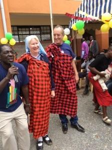 Niall Mellon, Sister Mary, St. Catherines, Nairobi