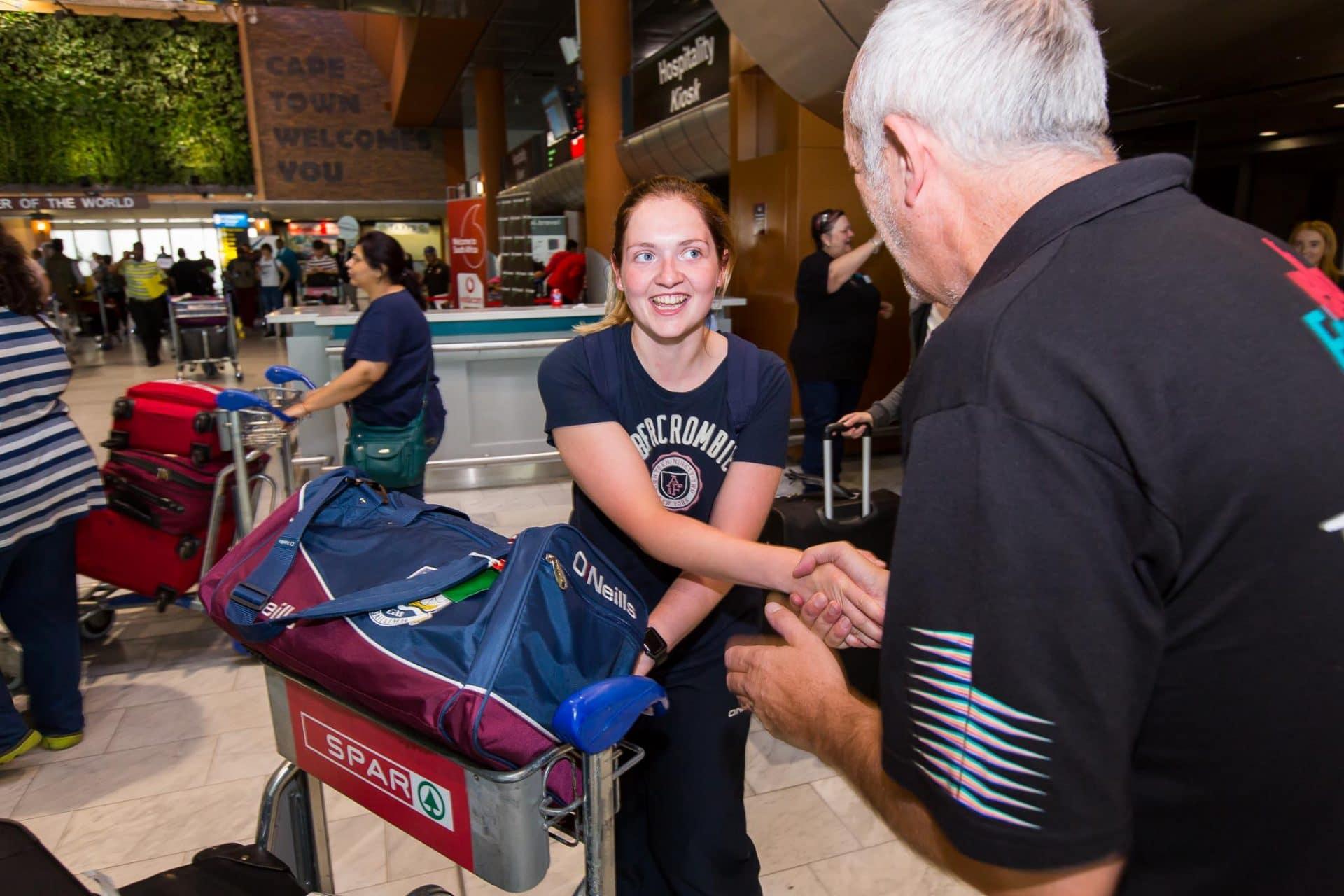 Volunteer Arrivals 2016
